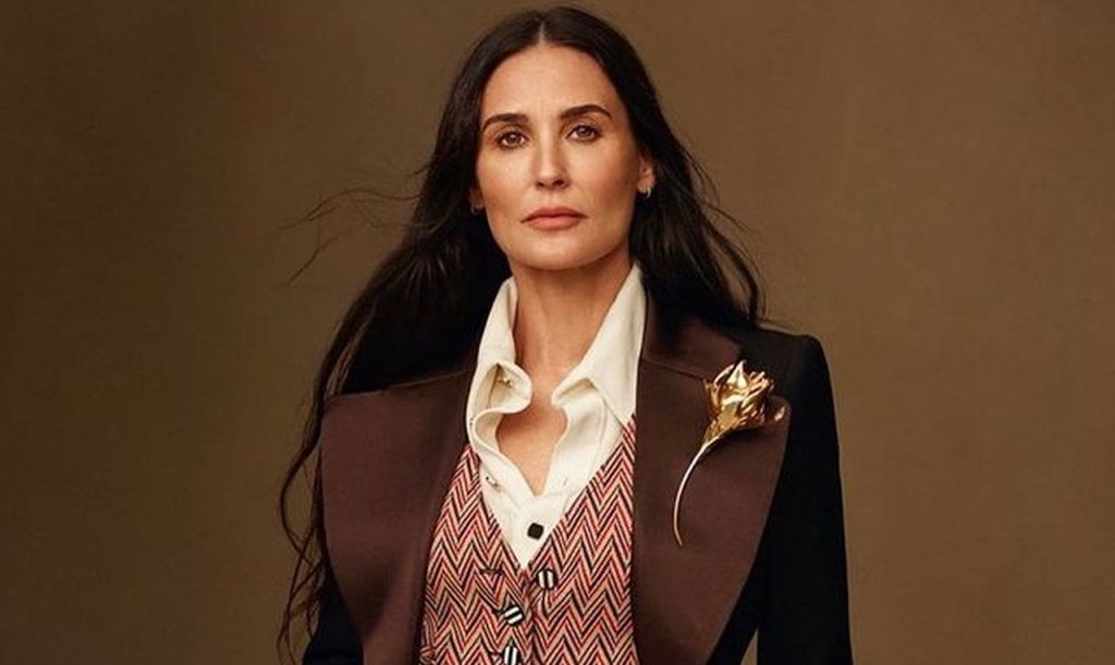 Demi Moore Continues To Spark Plastic Surgery Rumors After Sharing New Photos