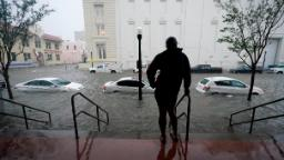 Floodwaters turn streets into rivers as Sally makes landfall