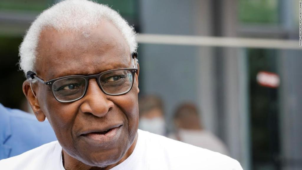 Former head of world athletics Lamine Diack jailed for corruption