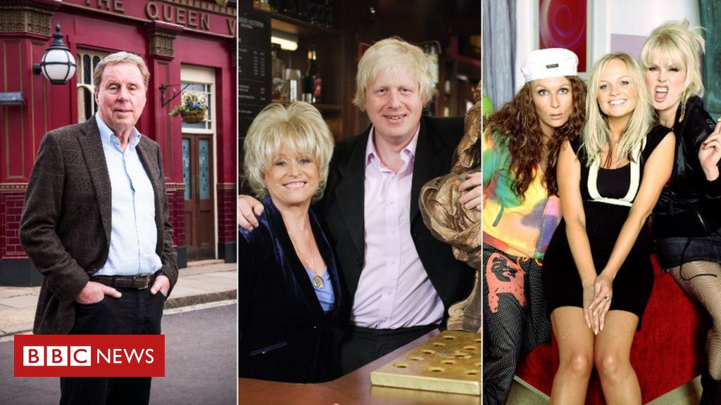 Harry Redknapp in EastEnders, and five other surprise celebrity TV cameos