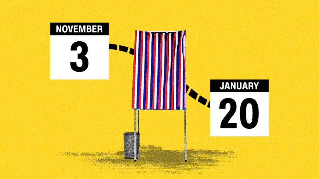 Here's a guide to deadlines from Election Day to inauguration