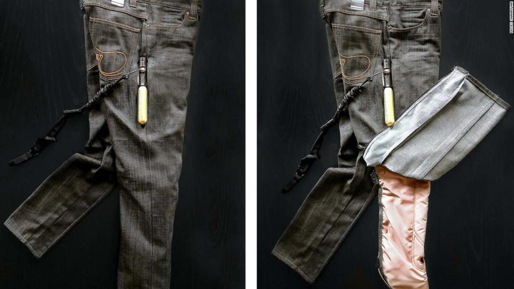 How airbag jeans and high-tech vests could make motorbikes safer