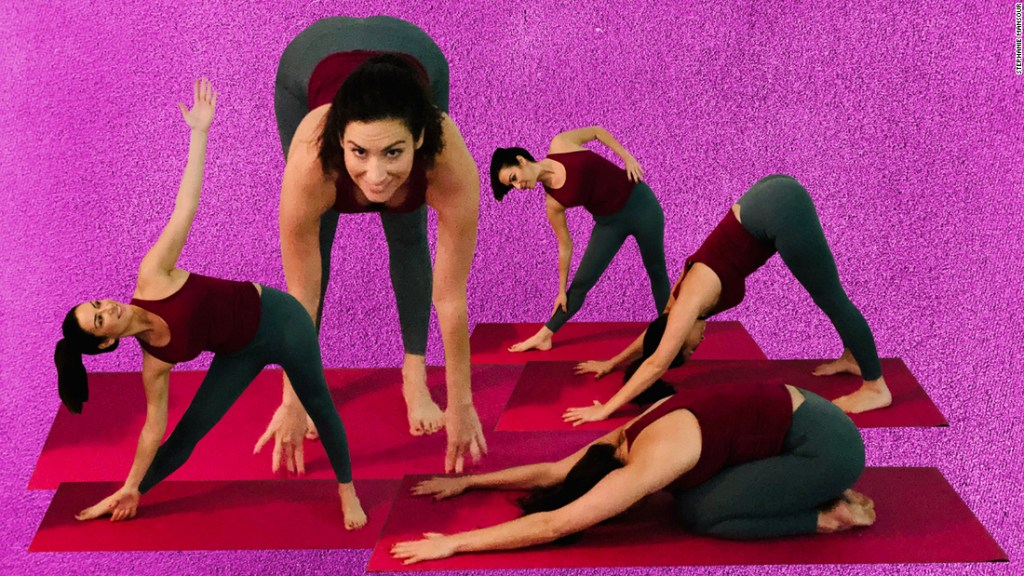 How to modify yoga poses if you're super inflexible