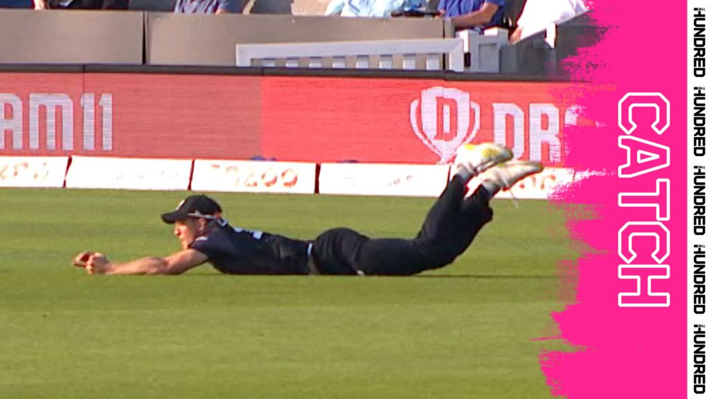 'It's a beauty!' - Lammonby makes brilliant diving catch to dismiss Roy
