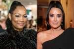 Kyle Richards Says She Thinks New RHOBH Co-Star Garcelle Beauvais Has Been Slamming Her Just 'For A Storyline!'