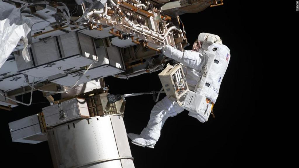 NASA spacewalk: Watch astronauts Kate Rubins, Victor Glover outside the space station