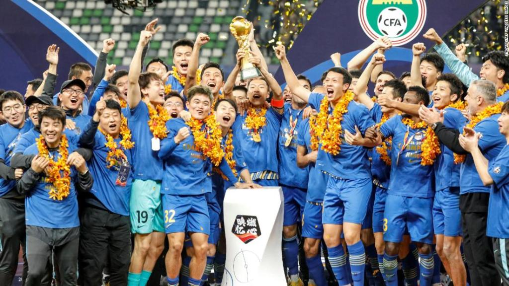 Reigning Chinese Super League champion Jiangsu FC 'ceases operations'