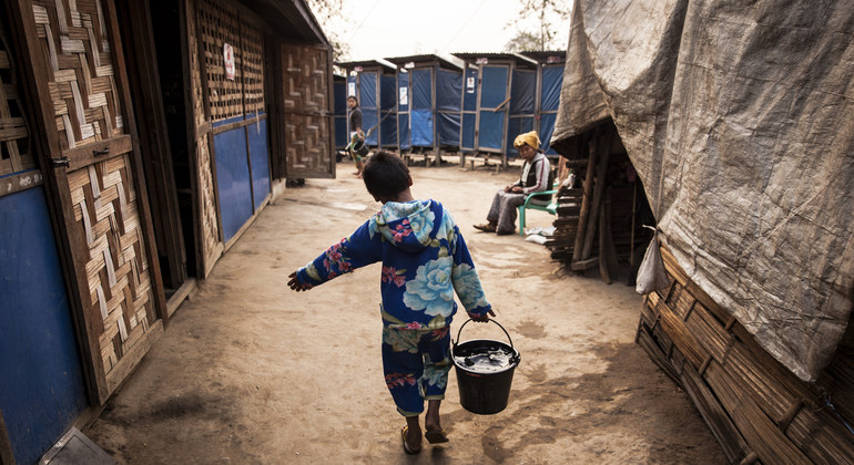 Relief programmes hit by ongoing crisis in Myanmar, UN humanitarian office says