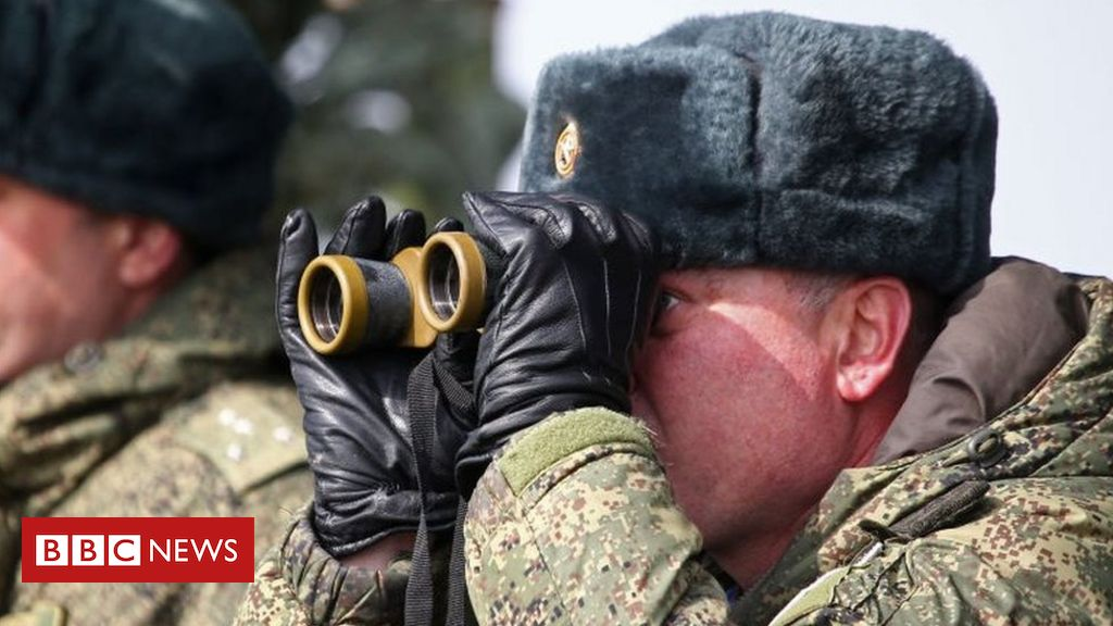 Russia Ukraine conflict: Fact-checking Russian TV's Ukraine claims