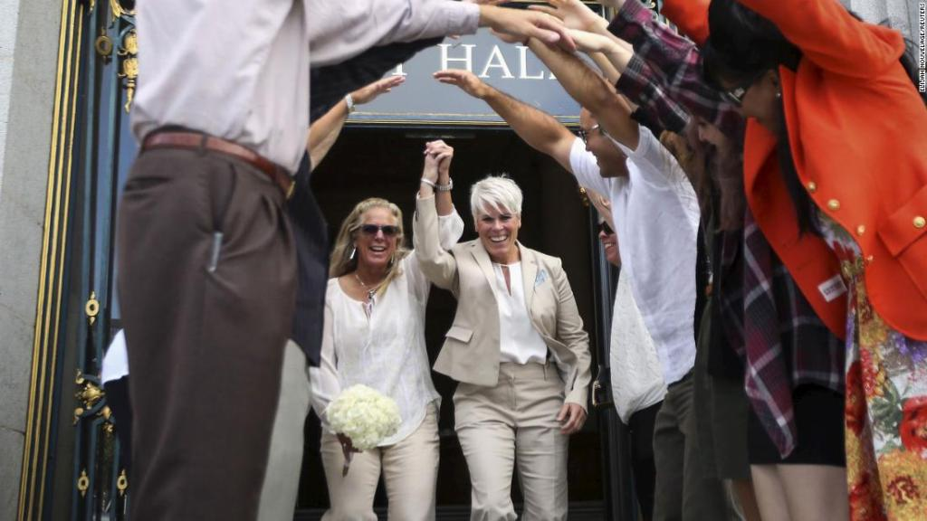 Same-sex weddings have boosted economies by $3.8 billion since gay marriage was legalized, a new study says