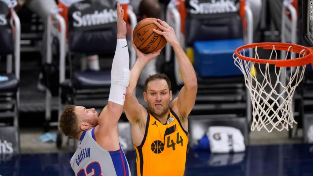 The West has a new best as Jazz win and Los Angeles Clippers fall