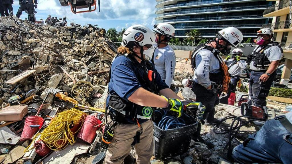 This emergency room physician went from the horrors of the Surfside disaster back into the ER battling Florida's Covid-19 surge