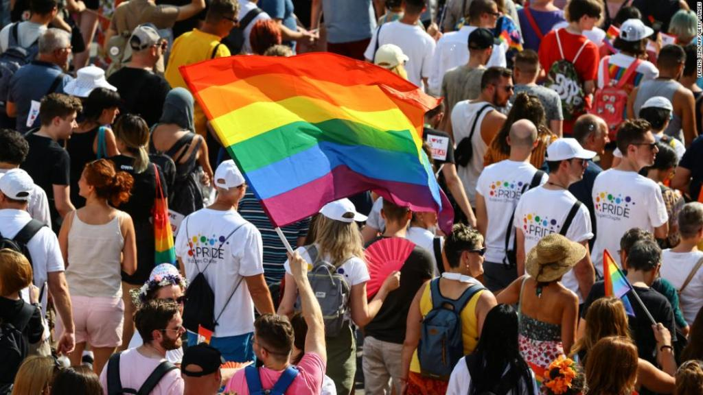 Thousands join Pride event in Hungary as LGBTQ people face growing hostility