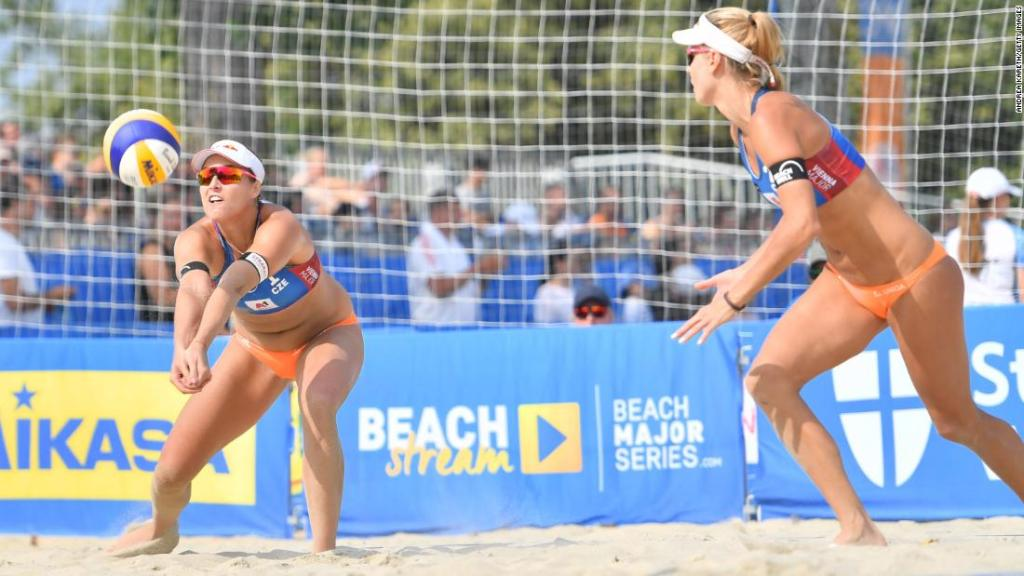 'We cried, then we swore, then we cried again': Czech beach volleyball player on missing Olympics due to positive Covid-19 result