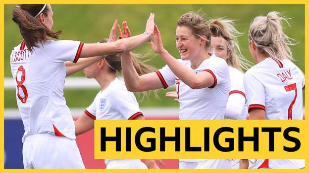 White scores hat-trick as England thrash Northern Ireland