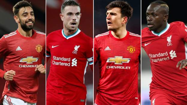 Your combined Liverpool-Man Utd XI revealed