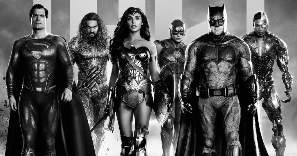 Zack Snyder's 'Justice League' Posters Assemble the Ultimate DC Superhero Team in Black & White