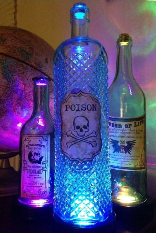 halloween party lighting. Halloween_Party_LED_Bottle_Lighting Halloween Party Lighting