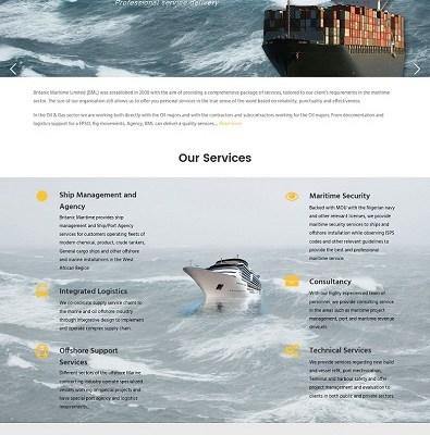 Britanic Maritime' - www_britanicmaritime_com