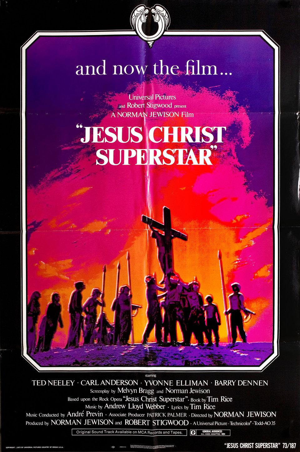 JESUS CHRIST SUPERSTAR – David di Donatello per miglior film straniero