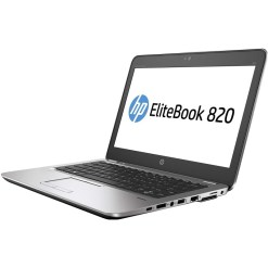 notebook ricondizionato hp elitebook 820 g3 125 intel core i5 6200u ram 8gb ssd 128gb webcam usb 30 type c windows 8 grado b Home New