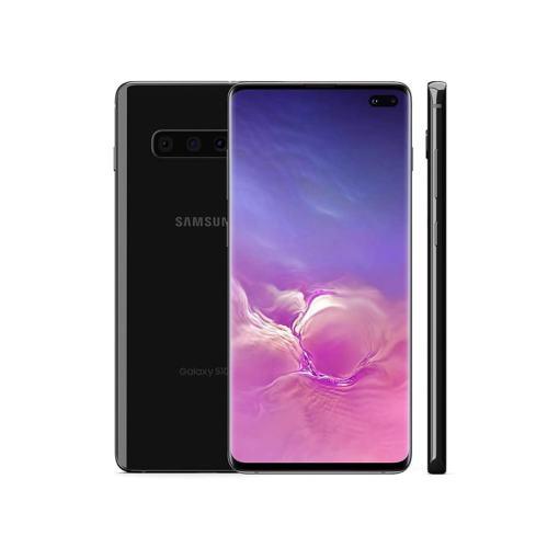 """S10PLUS NERO Samsung Galaxy S10+ (Plus) 128 GB Black 6.4"""" Super AMOLED (Ricondizionato)"""