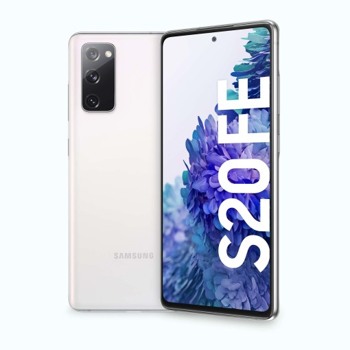 """131929 6098daaf06417 Samsung Galaxy S20 FE 128 GB White 6.5"""" (Ricondizionato)"""