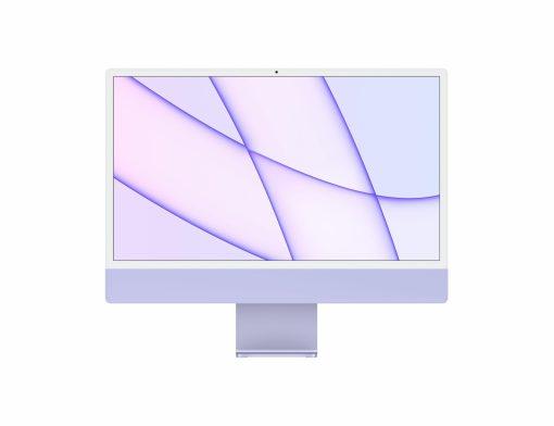 """imac 24 touch id purple gallery 1 scaled Apple iMac 24"""" Retina 4.5K Purple Chip M1 8-Core 2021 (Ricondizionato)"""