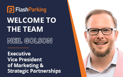 FlashParking Welcomes Tesla's Former Top Executive, Neil Golson, as Its New EVP of Marketing
