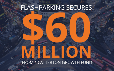 FlashParking Secures $60 Million from L Catterton's Growth Fund