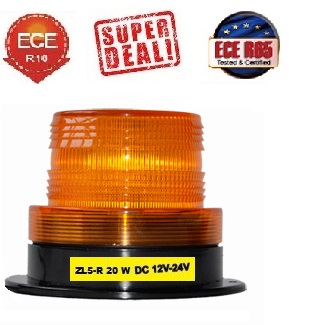 ZL-R 20 watt Led Zwaailamp ECER65, ECER10,12/24 Volt (250 Km/uur).jpg