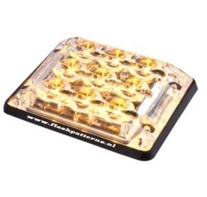 SSLT9 Led Flitser 9 x 3 Watt ECE R65 ECER10 EMC amber-wit-blauw-dual color