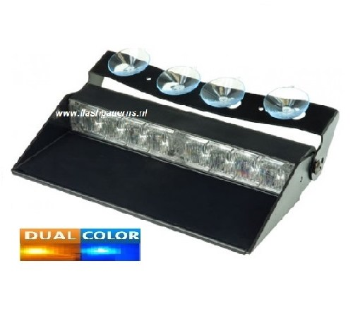 Mirage T4-2 Dual Color Dash Flitser 12 24 volt-2