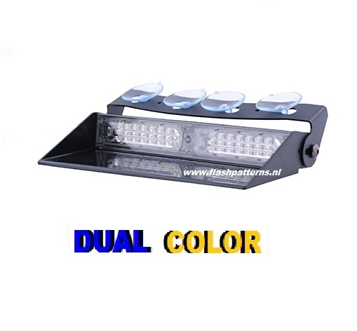 Mirage Dash Flitser L6-2 Dual Color 12 24 volt