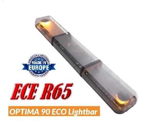 Optima ECO vesie LED Lichtbalk ECER65 1400mm met helder lens kappen