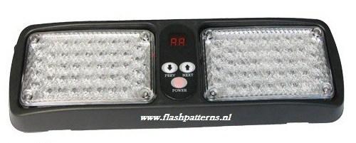 LED ZONNEKLEP FLITSERS / LED VISOR LIGHTS