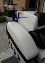 foto klant motor met secure signal motor zwaailamp eigendom flashpatterns.nl