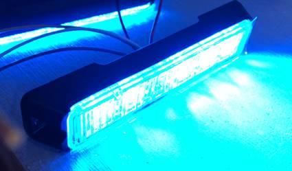 LT Pro T6 led flitser Blauw