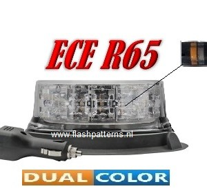 extreem dual color led zwaailamp magnet DC