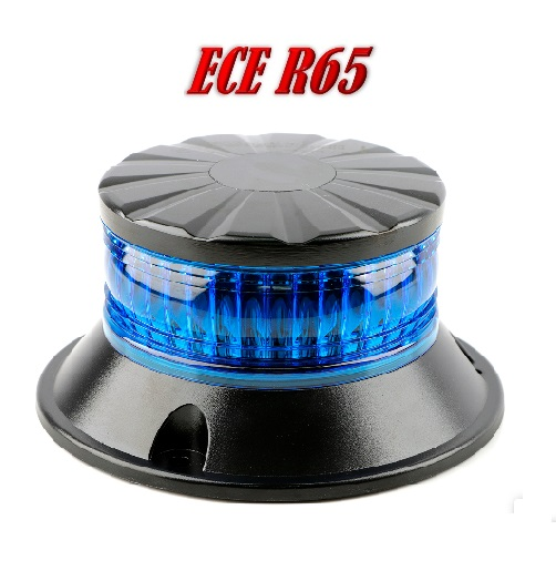 ZLX LED Zwaailamp led en lens kleur Blauw