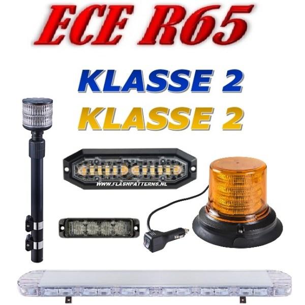 Led Flitsers ECER65 Klasse 2