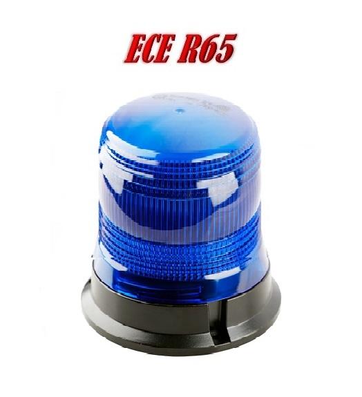 ZLSS138HB Hoog kwaliteit LED Zwaailamp Blauw ECER65 12/24V 3 jaar Garantie
