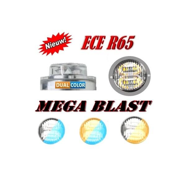 MEGABLAST LED FLITSER R65 DUAL COLOUR EXTREEMLEDTECH