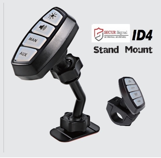 ID4 motor cycle switch controller stand mount and motorcycle mount