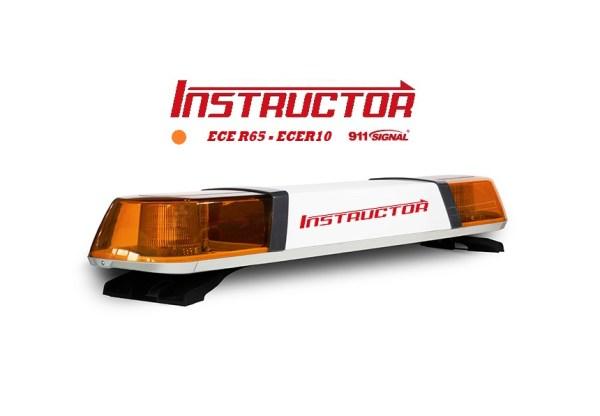 INSTRUCTOR 1200mm Led Lichtbalk ECER65 12/24V Oranje 5 Jaar Garantie