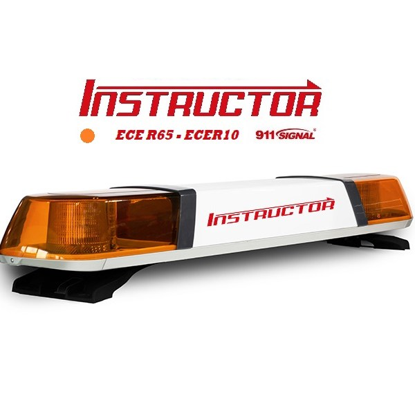 INSTRUCTOR 1200mm Led Lichtbalk ECER65 12/24V Oranje 5 Jaar Garantie