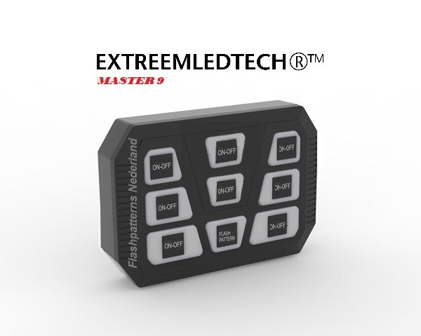 BEDIENINGS-PANELEN / SCHAKELAARS / SWITCH BOXES - Master Pro Switch-Bediening Paneel main slant
