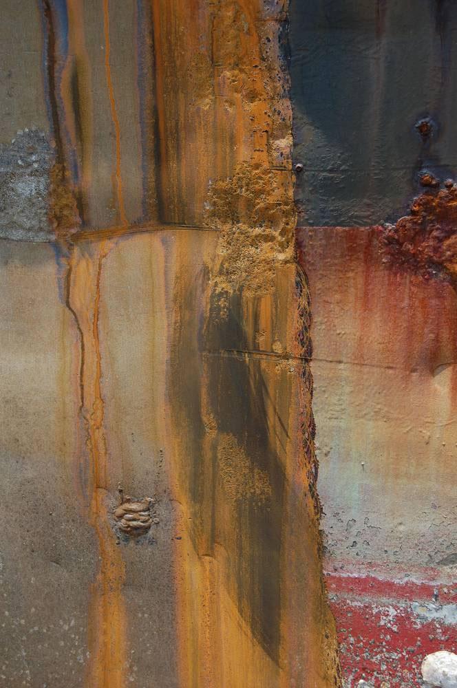 Hand Wipe Of Heavy Flash Rust Flash Rust