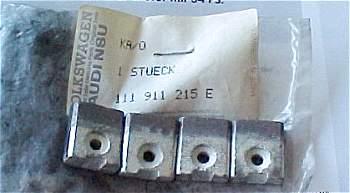 Des balais 12V neufs, disponibles chez VW