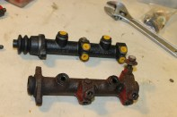 maitre-cylindre vw combi T2 sans servo frein